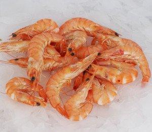 Crevettes roses cuites 60/80