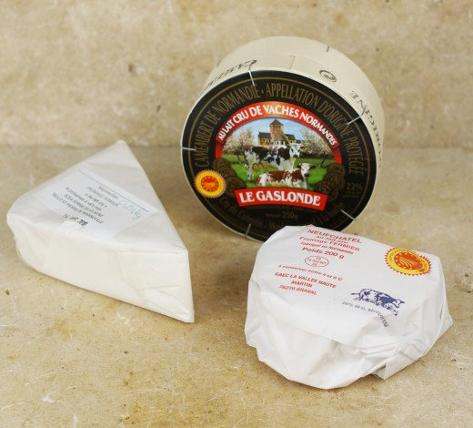 Box 3 fromages