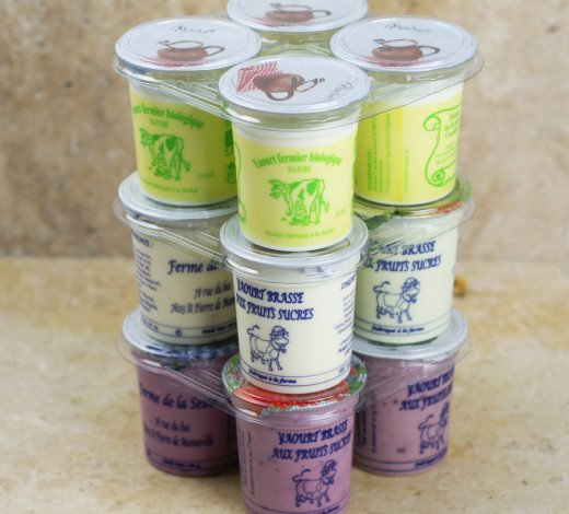 Pack de 12 yaourts fermiers