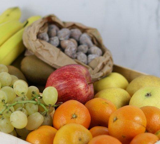 Box de fruits de saison préemballés (spécial Covid)