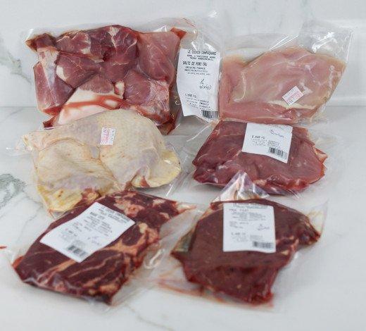 Box de viande mixte