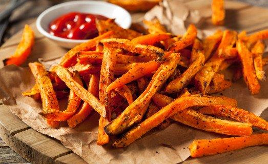 Frites de patate douce
