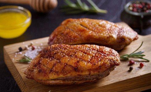 Magret de canard au miel et vinaigre balsamique