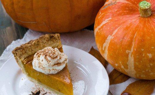 Tarte d'Halloween potimarron et pomme